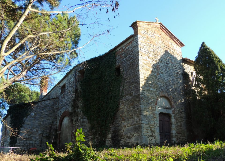 San Vito in Versuris, chiesa ormai abbandonata