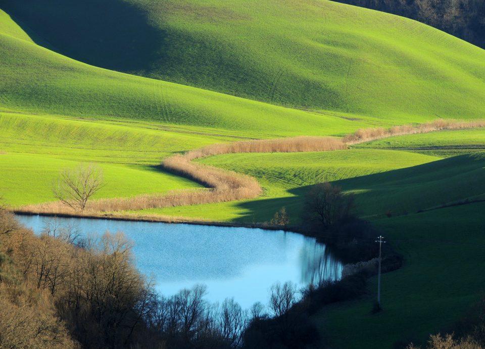 Nella valle un altro laghetto