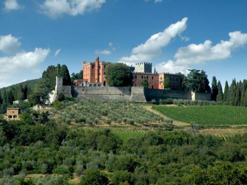 Il Castello di Brolio a Gaiole in Chianti
