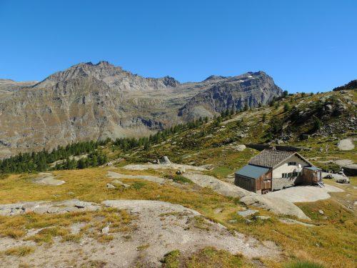 Rifugio Jervis nel Parco Nazionale del Gran Paradiso