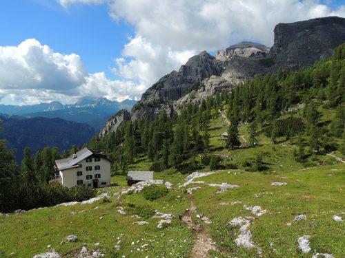 L'altipiano della Gardenaccia in Val Badia