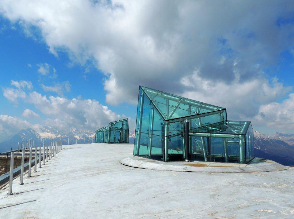 terrazza del Messner Museum
