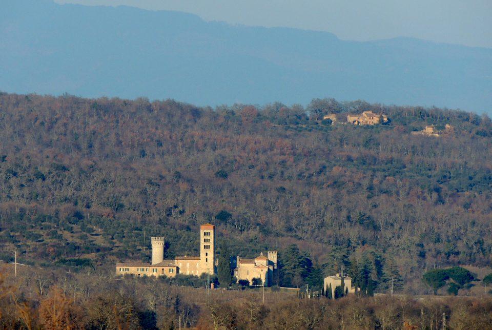 Panorama verso Badia a Monastero