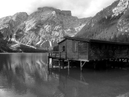 Gli specchi d'acqua nei pressi di Dobbiaco in Val Pusteria