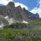 Ai piedi del Monte Civetta, al lago del Coldai