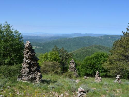Le Cornate di Gerfalco, davanti al mare a più di 1000 metri di altitudine